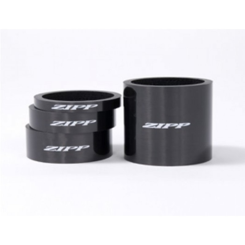 Проставочные кольца для рулевой Zipp Carbon, 4mm-2, 8mm-1, 12mm-1, 30mm-1, 00.1915.124.010