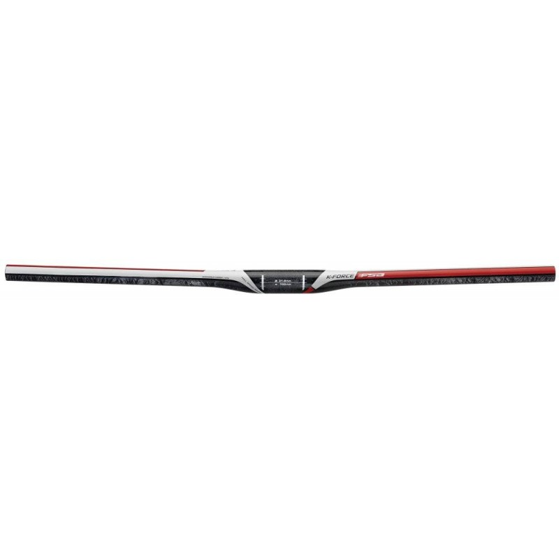 Руль MTB FSA K-FORCE Carbon Red flat Di2 700mm V16