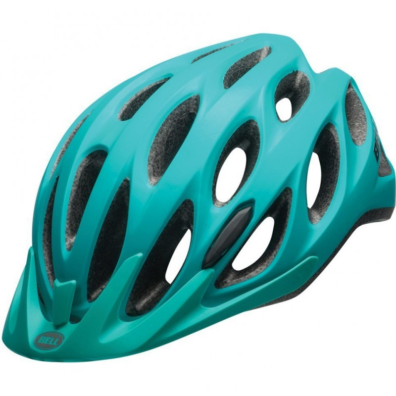 Шлем велосипедный Bell 17 TRACKER, универсальный, матовый зеленый