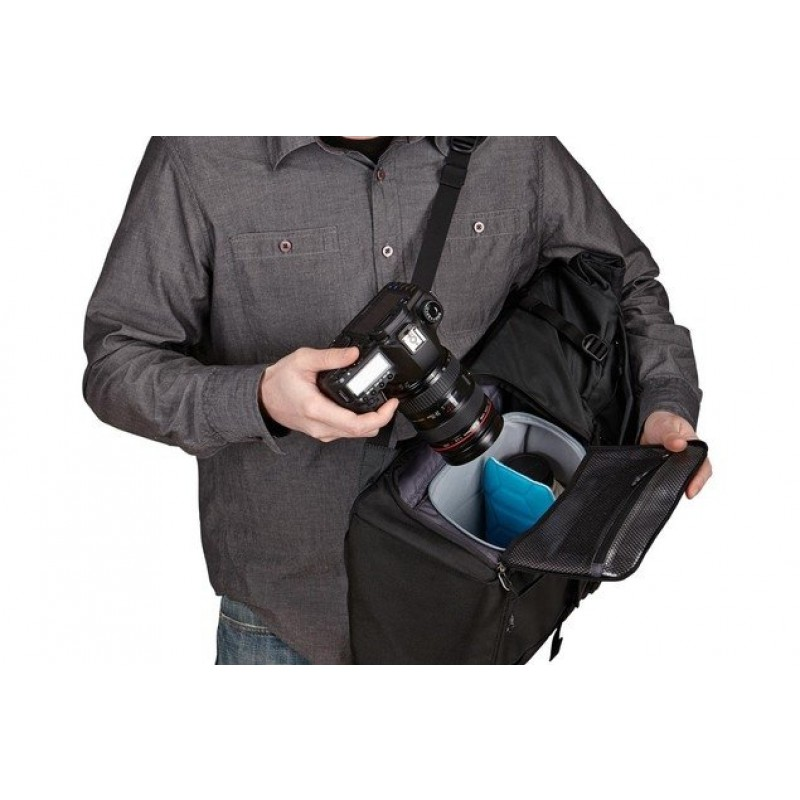Рюкзак Thule Covert DSLR Backpack, черный, 45 x 20 x 54 см, нейлон, 3201963 (фото 6)