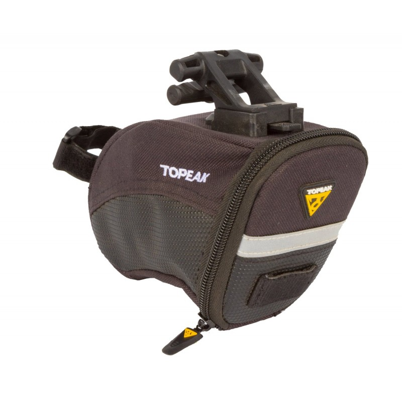 Подседельная велосумка TOPEAK Aero Wedge Pack W/Quick Click SMALL (14г, TC2251B) (фото 4)