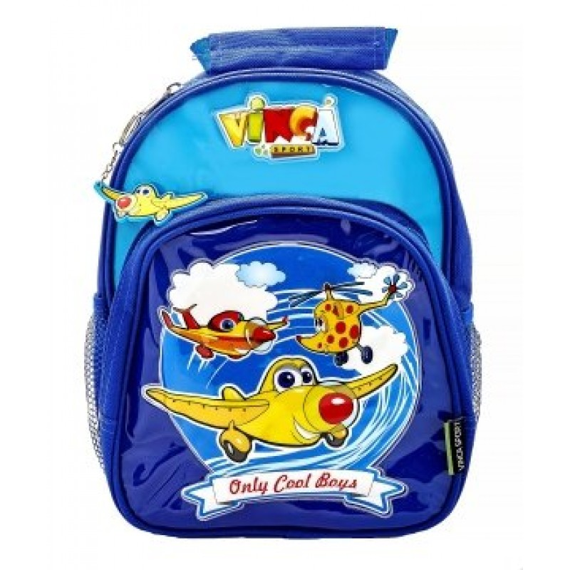 Сумка -рюкзак цвет: синий, размер: 27*21*6,5см  (арт.15021)