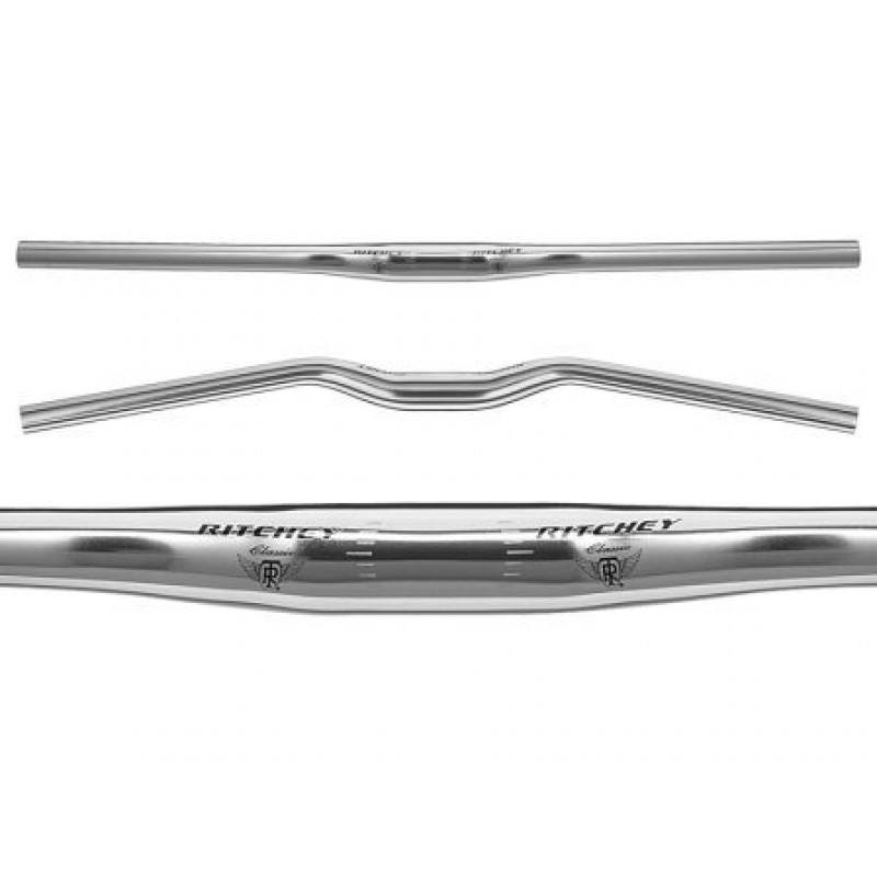 Руль RITCHEY MTN CLASSIC FLAT, D: 31,8 х L:660 мм, изгиб 10* назад, алюминий 6061, PRD15258