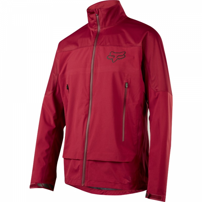 Велокуртка Fox Attack Water Jacket Dark Red