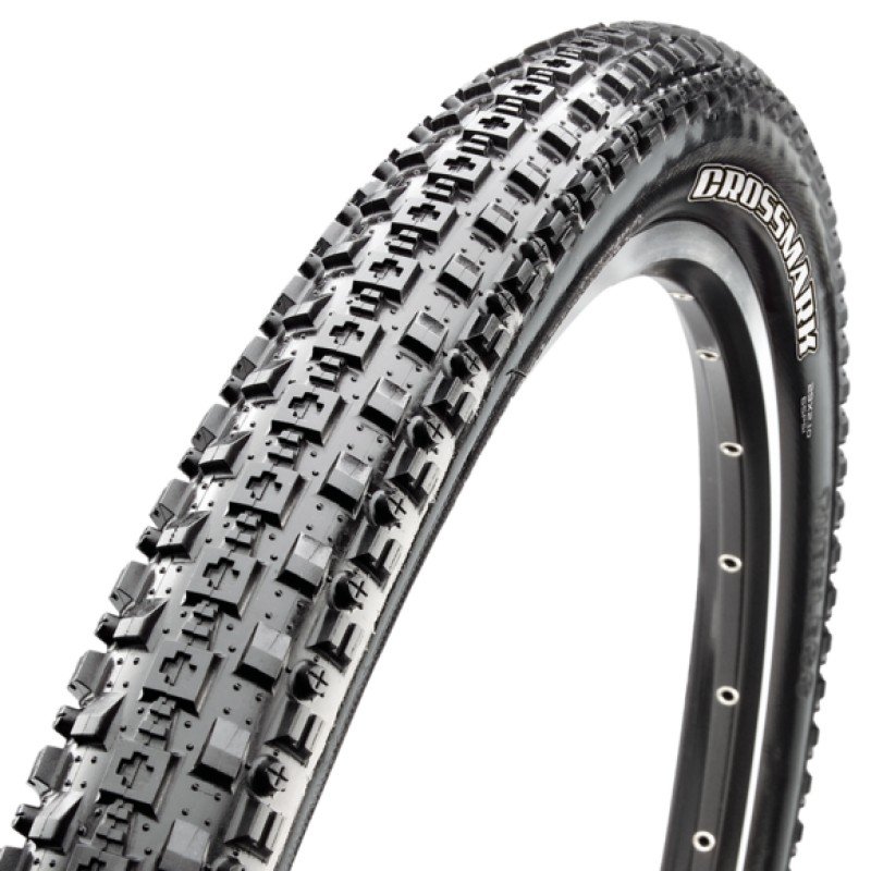 Велопокрышка Maxxis CrossMark, 29x2.1, 60 TPI, wire, Single, черная, TB96698000