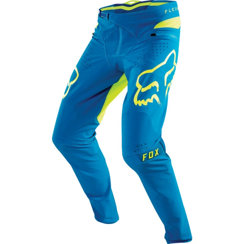 Велоштаны Fox Flexair Pant Teal, голубые, полиэстер