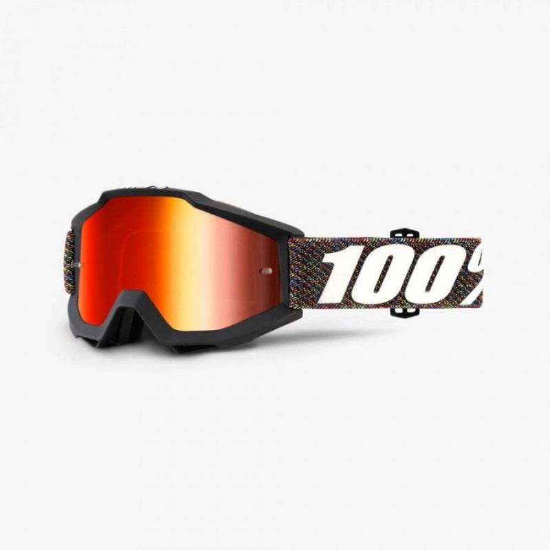 Велоочки 100% Accuri Krick / Mirror Red Lens, 50210-227-02