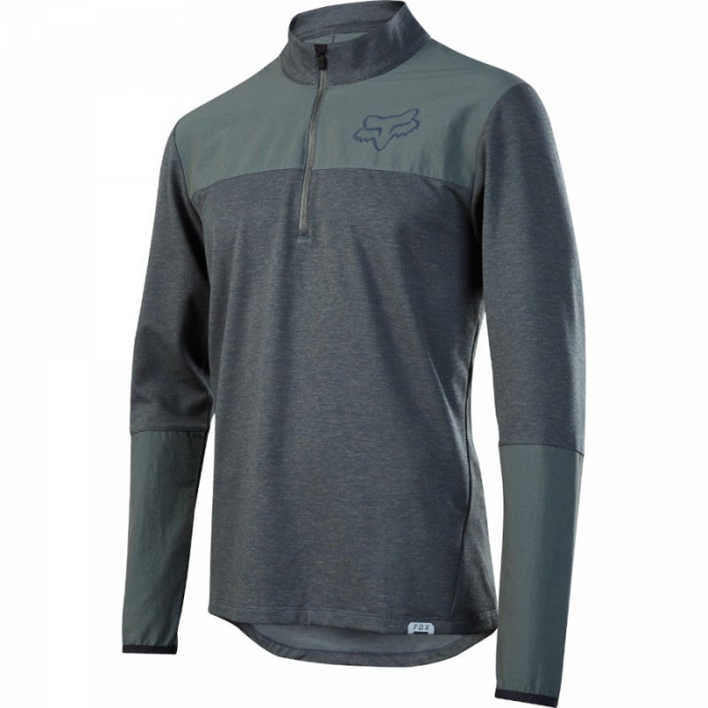 Велоджерси Fox Indicator Thermo Jersey Dark Green