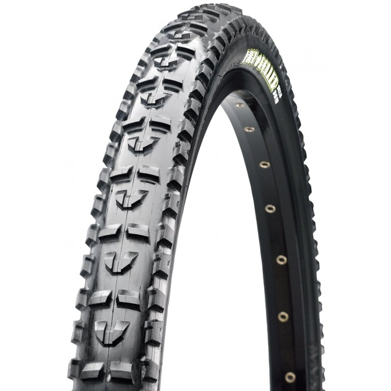 Велопокрышка Maxxis HighRoller, 26x2.1, 60 TPI, wire, Single, черная, TB69762000 (фото 2)