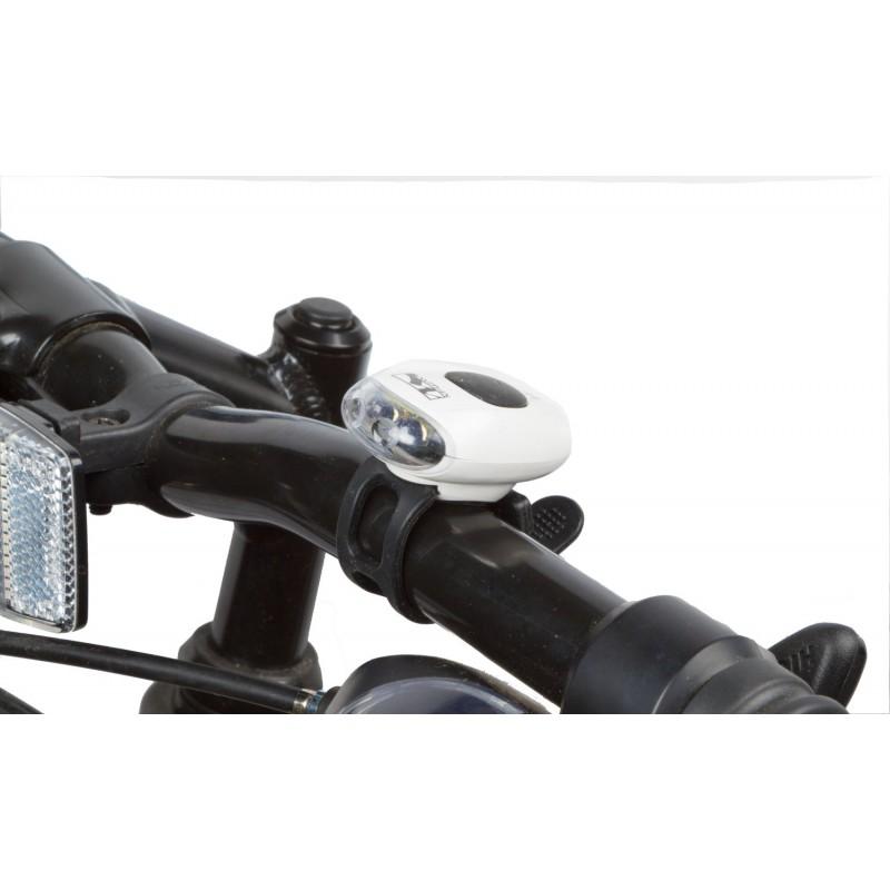 Фара+фонарь COBRA IIl белый корпус M-WAVE 5-221063