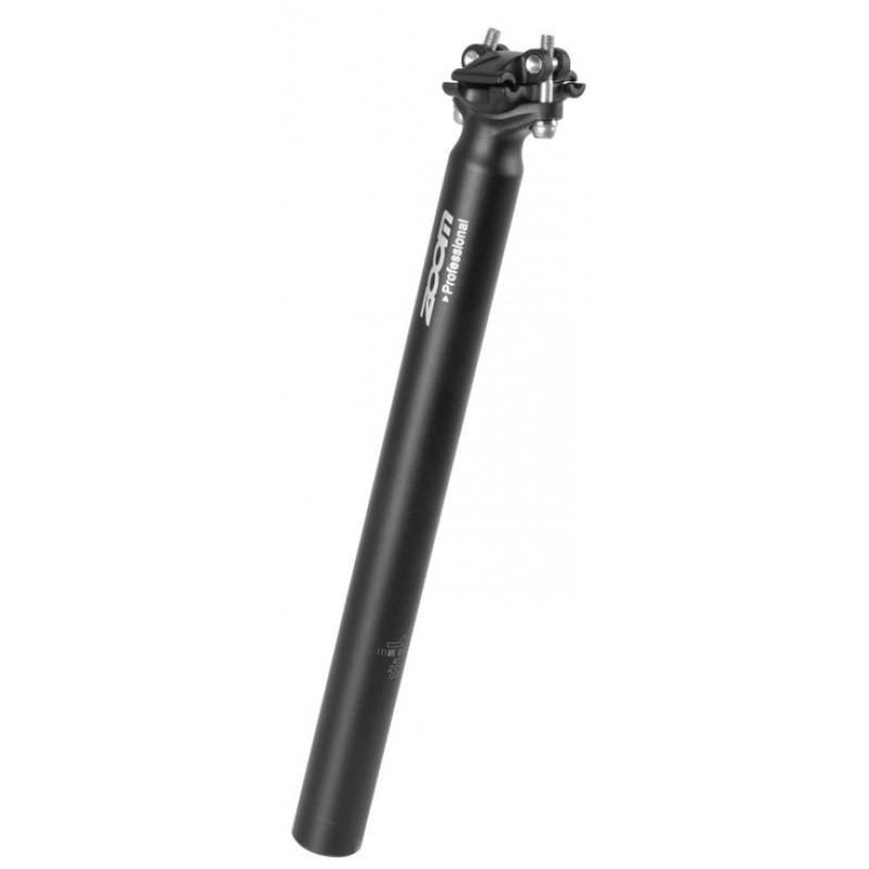 Штырь подседельный для велосипеда ZOOM 27,2х400 мм, без смещения, алюминий, 5-252744