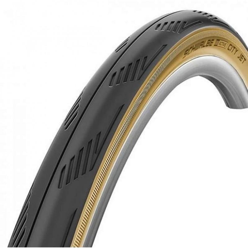 Велопокрышка Schwalbe CITY JET 26x1,95 (50-559), SBC, 50EPI, HS474, B/CL-SK, 11101105.01