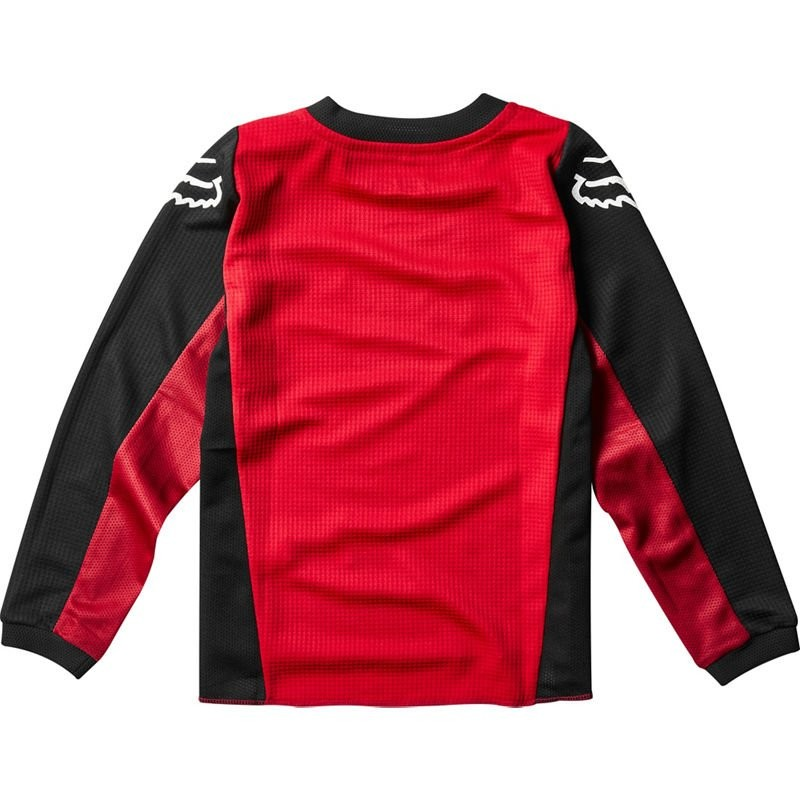 Велоджерси детская Fox 180 Prix Kids Jersey, Flame Red K, 2020 (фото 2)
