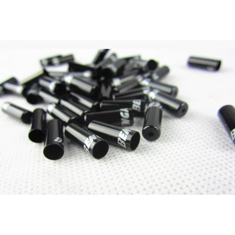 Колпачок Bengal на велорубашку переключения передач, алюминий, анодировка, 5.2x4.2x15 мм, черный, CAPD1BK