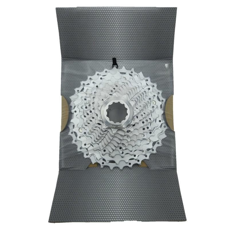 Велошлем MET Rivale, черно-голубой (фото 3)