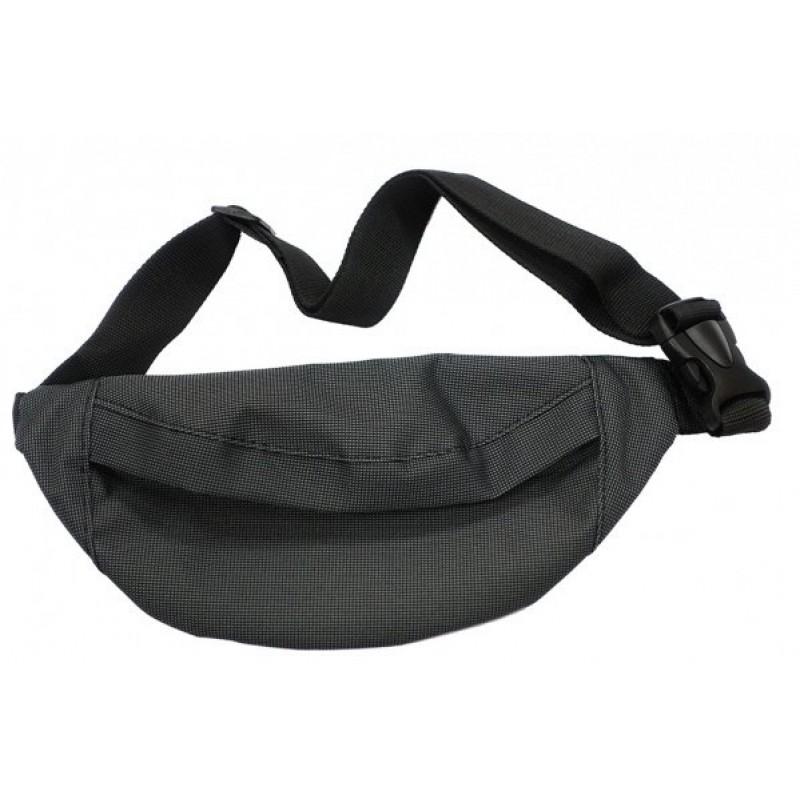 Сумка Alpine, поясная, нейлон, темно-серая, сп051.022.102