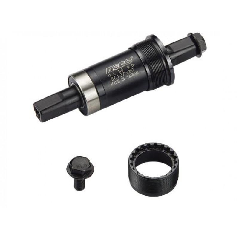 "Каретка NECO под квадрат, BSA 1.37""x 24T, R/L. 73/119мм, B910"