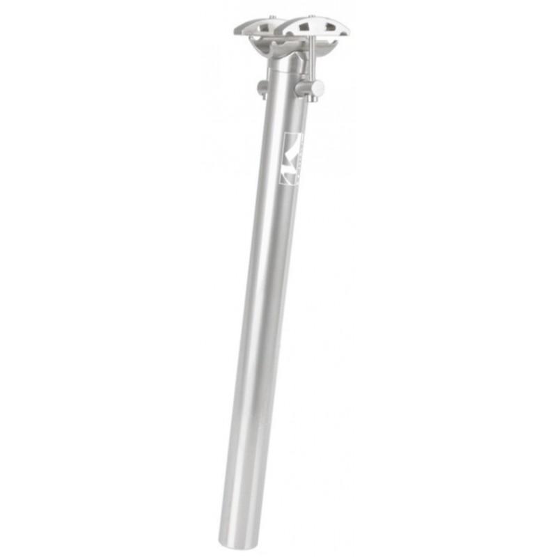 Штырь велосипедный M-WAVE подседельный, 31,6х350мм, анодированный алюминий, серебристый, 5-252821