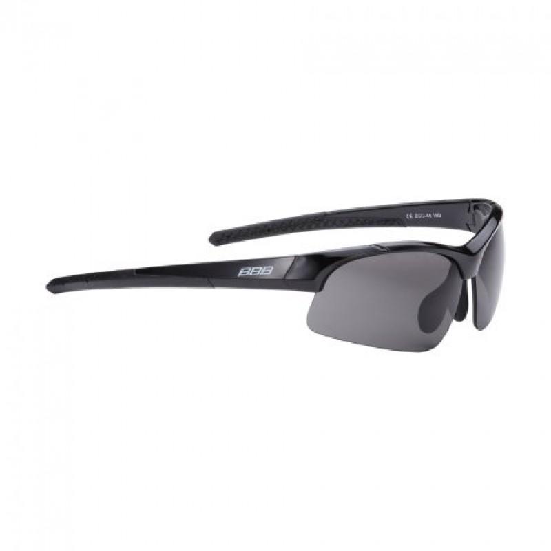 Очки велосипедные BBB Impress Small  PC, сменные линзы жёлтые+прозрачные, мешочек, чёрные, BSG-48