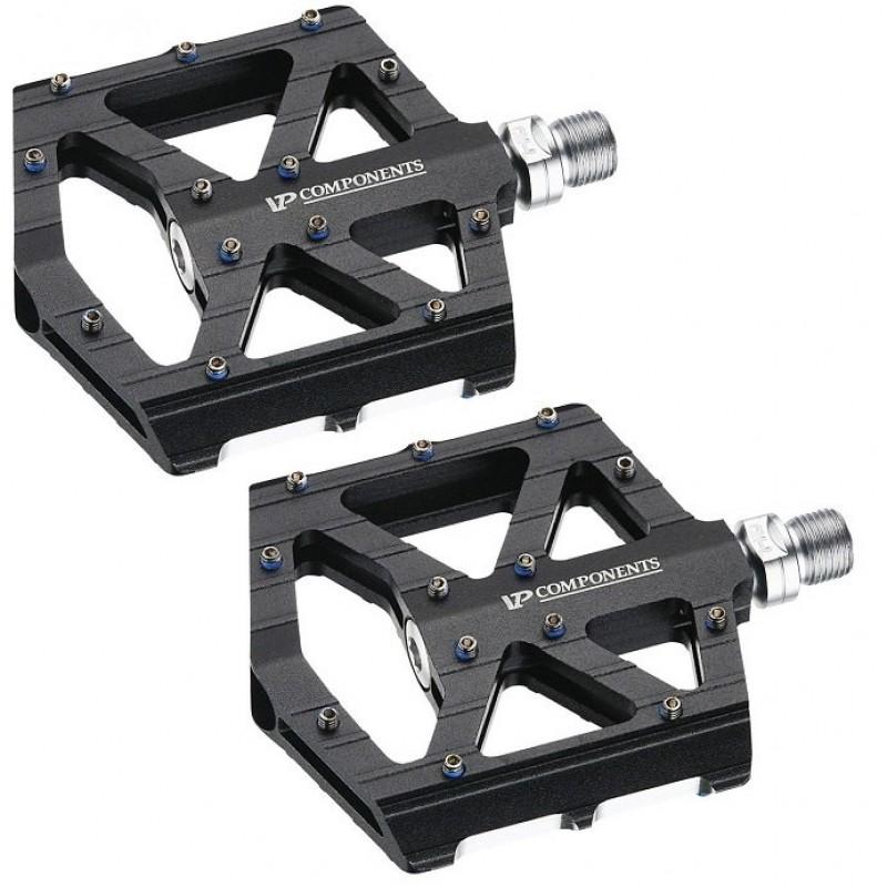 Педали велосипедные VP VP-001 BMX черный, Cr-Mo ось