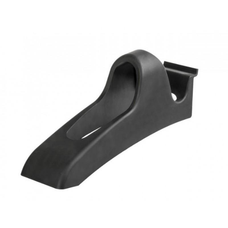 Держатель велошлема M-WAVE для горизонтального крепления шлема на экономпанели, пластик, черный, 5-081024
