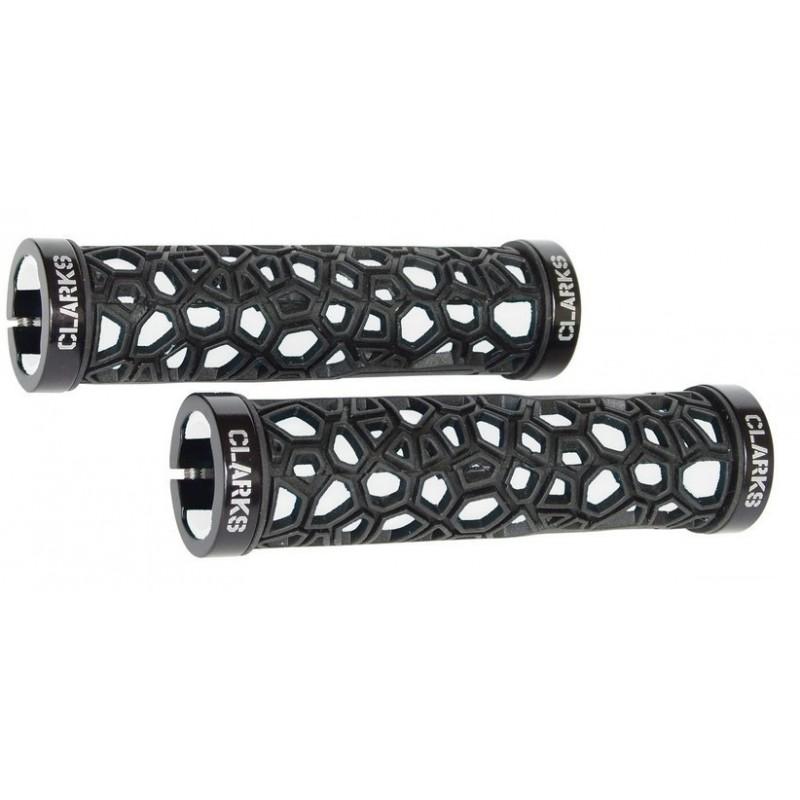 Ручки на руль для велосипеда CLARK`S cl0208 резина/гель