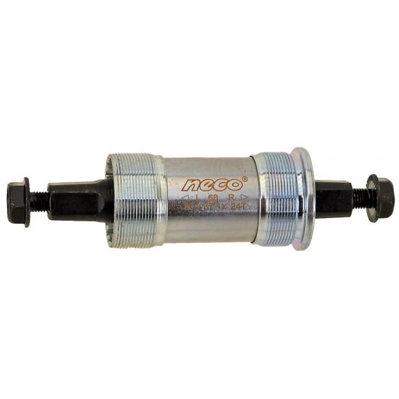 Каретка-картридж для велосипеда NECO стальные чашки 115/24мм 5-359272