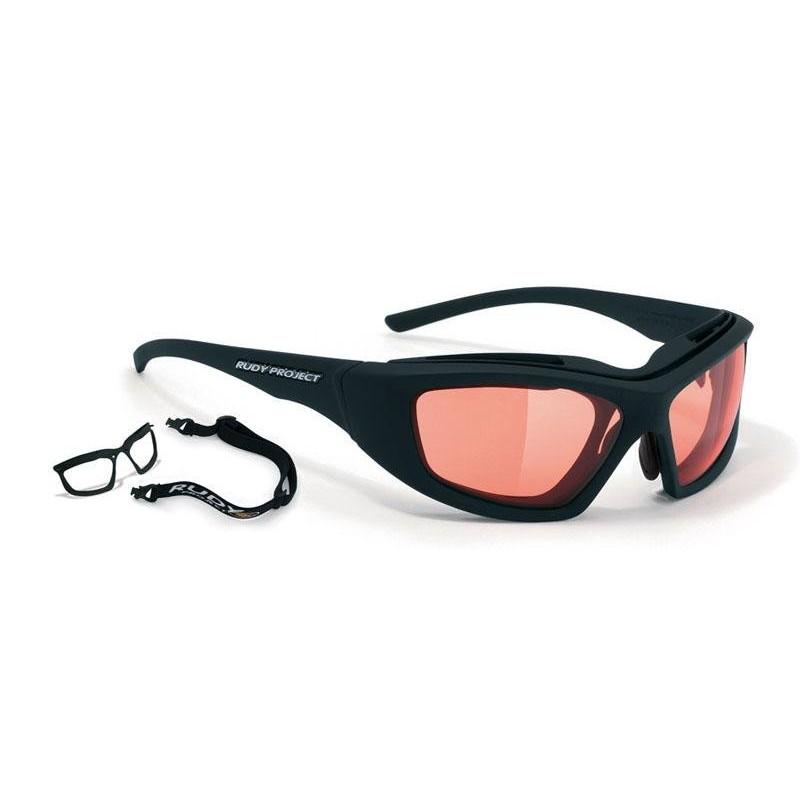 Очки велосипедные Rudy Project GUARDYAN BLACK - IMPACTX PHT RED, SN168406