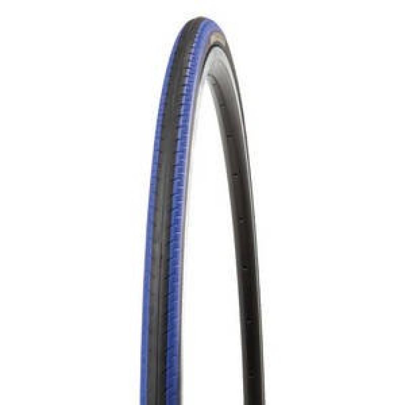 Велопокрышка KENDA K196 KONTENDER, 700х23С (23-622), 60 TPI, клинчер, LR3, слик, черно-синий, 5-522840