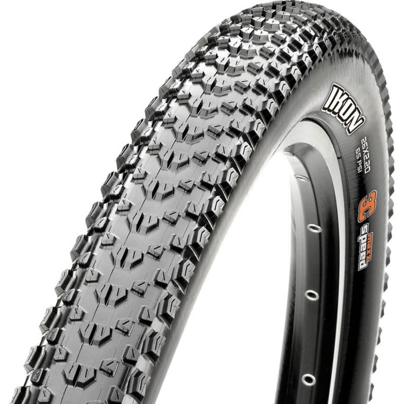 Велопокрышка MAXXIS IKON 29X2.6 M319RU F TLR DKFW2 BK 476/5392+486 2PLHO 3YL RE, ETB00038500