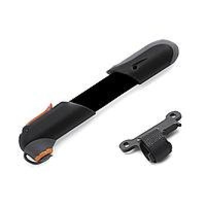 Насос велосипедный AUTHOR, алюминий, AAP Booster, универсальный, головка с колпачком, черный, 8-18101056